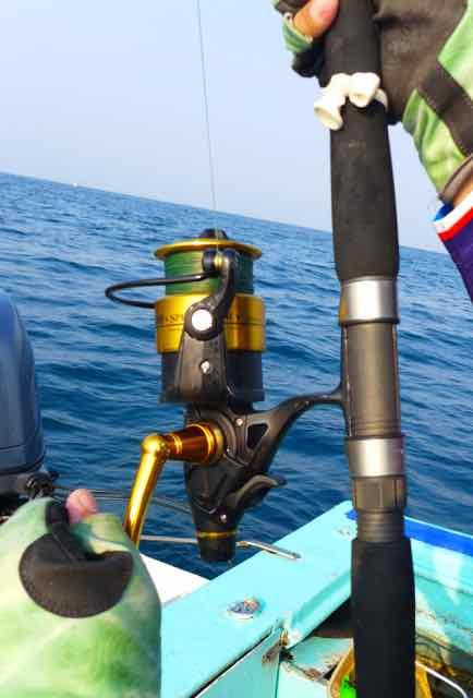 The ideal spinning reel for circle hook fishing